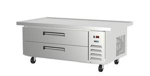 Base refrigerada para equipos de cocción.
