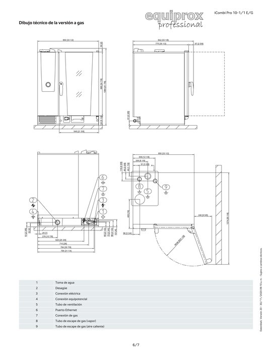 iCombi Pro 10-1/1 a gas