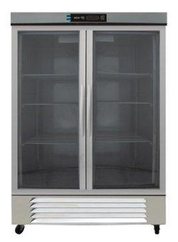 Refrigerador vertical de 49 pies cúbicos c/2 puertas de crista