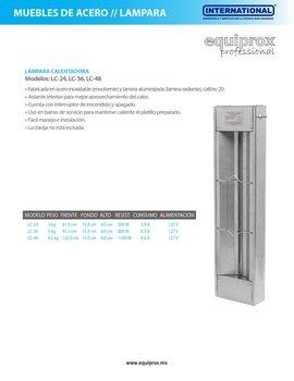 Lámpara infrarroja de 90 cm de longitud