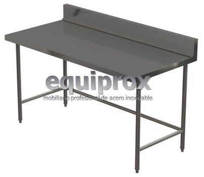 Mesa de trabajo de 1600 mm con lambrin sin entrepaño