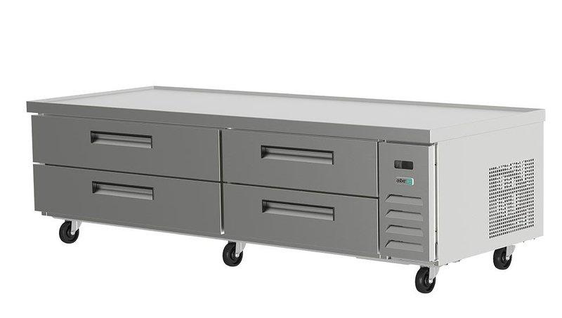 Base refrigerada para equipos de cocción
