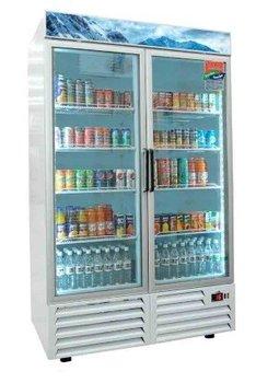 Refrigerador línea comercial de 37 pies cúbicos c/2 ptas