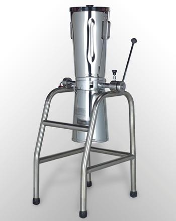 Licuadora industrial volcable de 17 litros de capacidad.