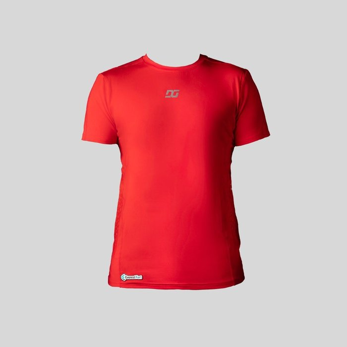 Playera Deportiva Para Hombre Roja