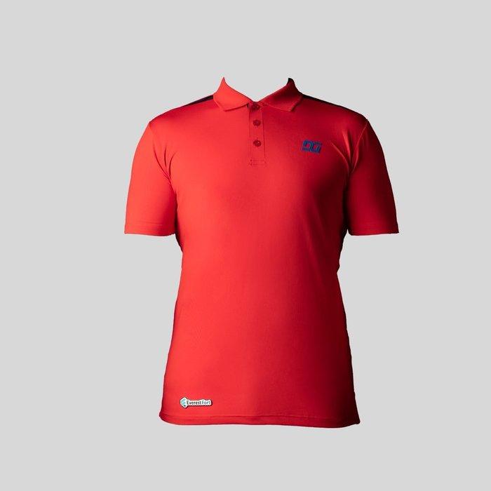 Camisa Tipo Polo Roja