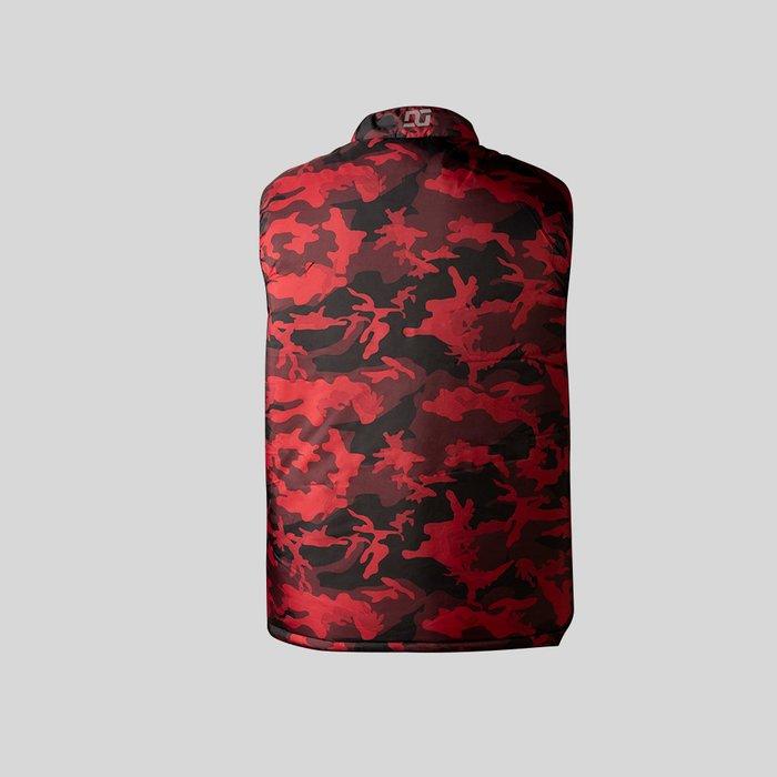 Chaleco Rojo Acolchado Para Hombre