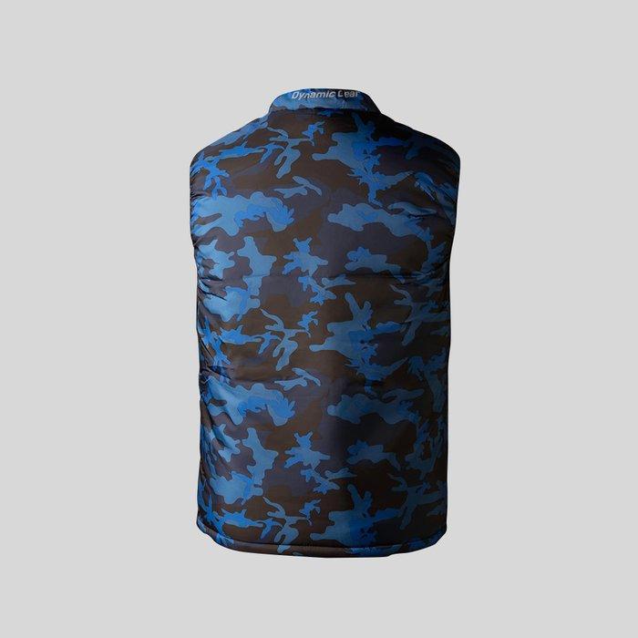 Chaleco Azul Acolchado Para Hombre