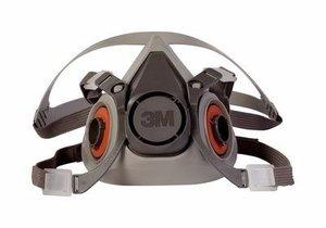 3M 6200 Respirador de media cara, tamaño mediano