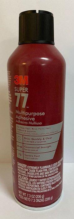 3M Super 77 Multipurpose Adh Aero Low Voc 24 Oz New