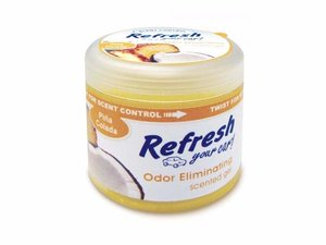 9931 Refresh Your Car® 4.5 oz. Gel Aromatizante Piña Colada