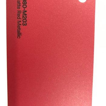 3M 1080-M203 MATTE RED METALLIC