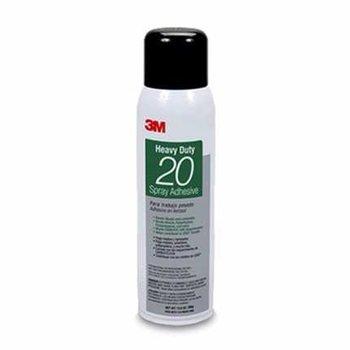 3M 20 Spray Adhesive Clear, Net Wt 13.8 Oz