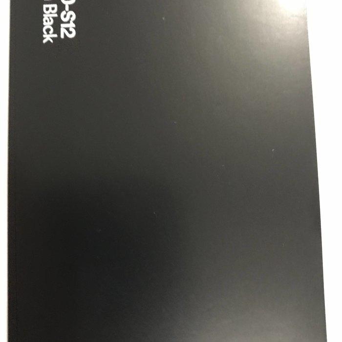 3M 1080-S12 SATIN BLACK 1.52X22.86M