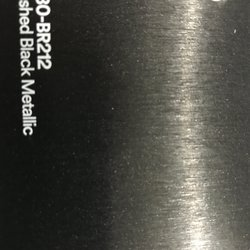 3M 1080-BR212 BRUSHED BLACK METALLIC