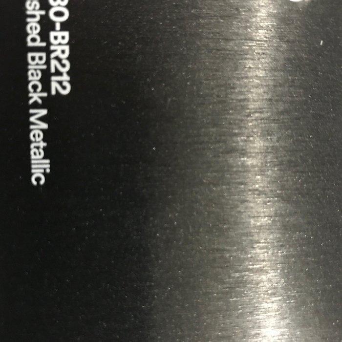 3M 1080-BR212 M2 BRUSHED BLACK METALLIC