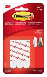 3M 17201-4PK-ES INTERLOCKING BLANCO 4PK COMMAND