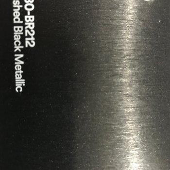 3M 1080-BR212 BRUSHED BLACK METALLIC