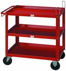 3M 2510 Carrito organizador metalico rojo