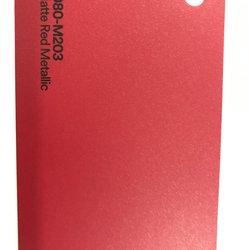 3M 1080-M203 M2 MATTE RED METALLIC