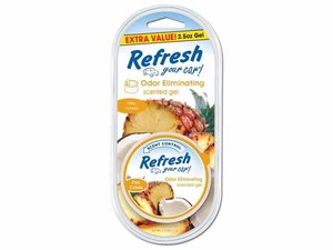 9932 Refresh Your Car® 2.5oz. Gel Aromatizante Piña Colada