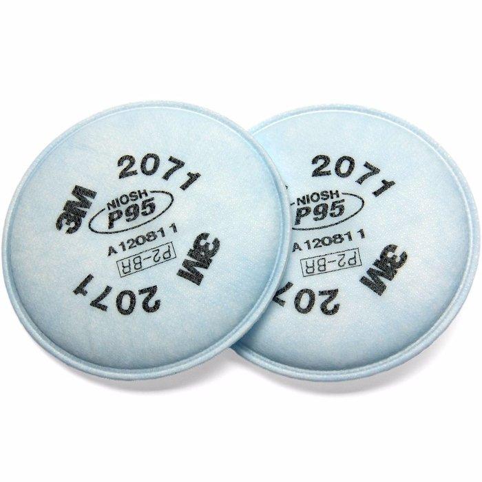 3M 2071 Filtro para partículas, P95 (Subempaque c/10)