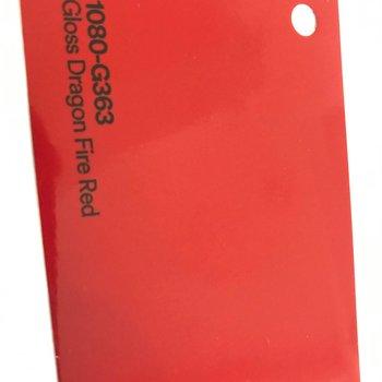 3M 1080-G363 GLOSS DRAGON FIRE RED 1.52 X 22.86 M