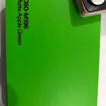 3M 1080-M196 M2 MATTE APPLE GREEN