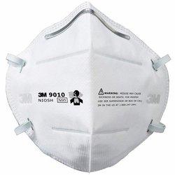 3M 9010 N95 Respirador Plegable para Polvos y Neblinas, N95