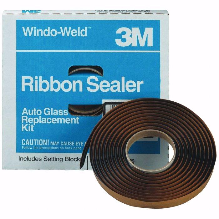 """3M 8621 Cordon sellador windo-weld negro 5/16"""""""