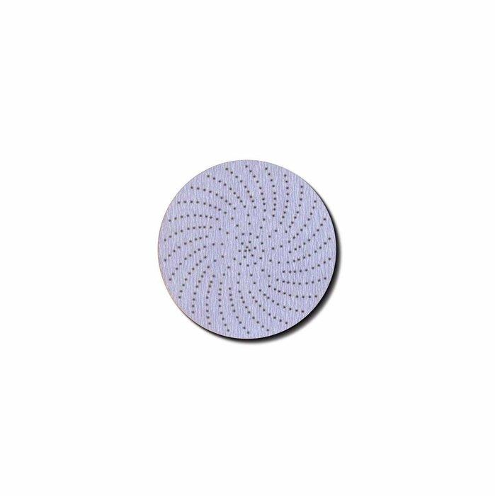 """3M 30260 Disco Hookit Clean Sanding, 91 Perforaciones 3"""" P800C"""