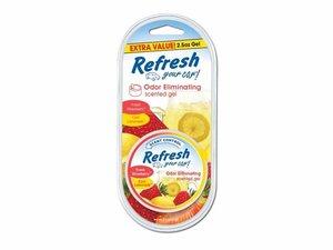 9924 Refresh Your Car® 2.5oz.Gel Aromatizante Fresa/Limonada