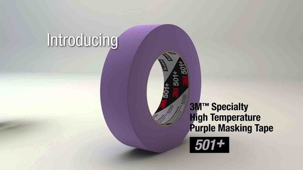 3M 501+ Masking con mayor desempeño industrial96 mm x 55 m