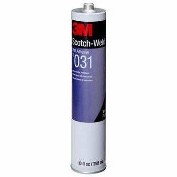 3M Te031 Lv Adhesivo Reactivo Negro 378Ml