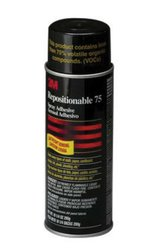 3M 75 Repositionable Adhesive Aerosol Can 16 Oz