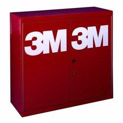 3M 2500 Gaveta organizadora metalica roja