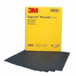 """3M 2032 Imperial Wetordry 9 x 11"""" P1500 (Subempaque c/50)"""