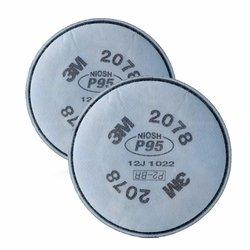 3M 2078 Filtro de Vapores para partículas, Orgánicos P95