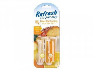 9581 Refresh Your Car® Vent Sticks Piña Colada/Mango mandarina