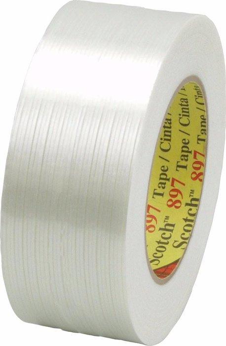 3M 897 Cinta filamento Uso industrial desempeño medio 48 x 55 m