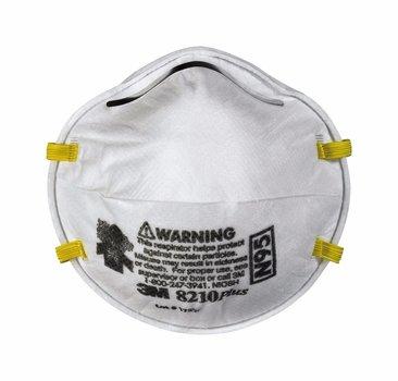 3M 8210PLUS Respirador para particulas N95(Subempaque c/20)