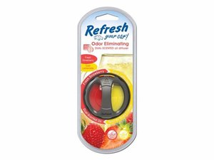 9022 Difusor Aromatizante Ventila Dual Fresa Fresca/Limonada