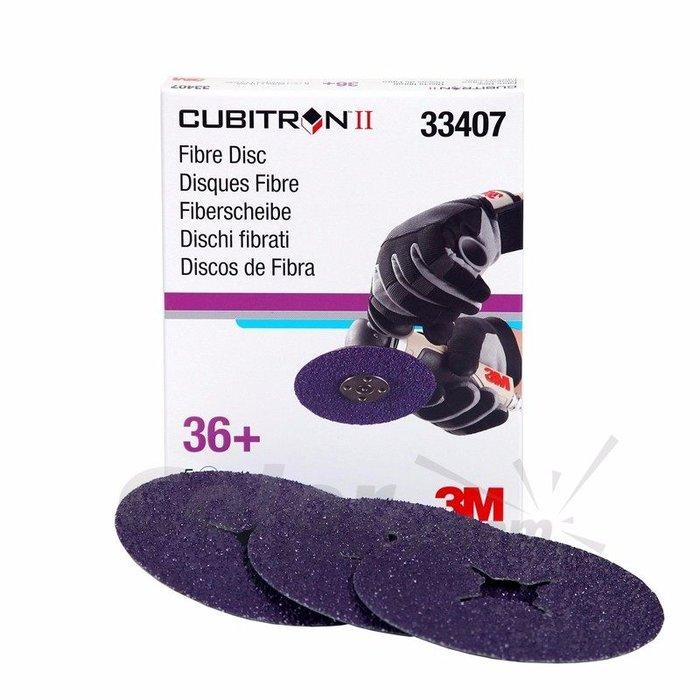 3M 33407 Disco fibra Cubitron II G36+