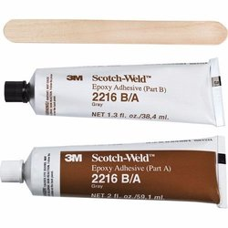 3M 2216 B/A, Transl Epoxy Adh 2 Oz Tube Kit
