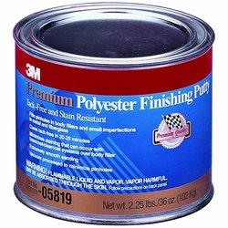 3M 5819 Masilla premium polyester acabado fino