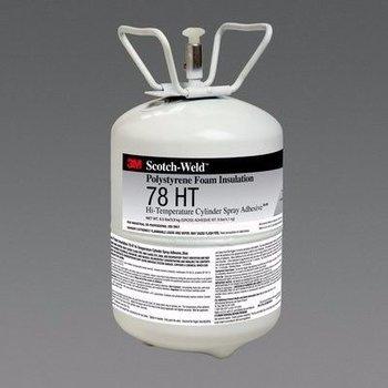 3M Foam Insulation 78 Ht Cylinder Spray Adhesive 28.5 Lbs