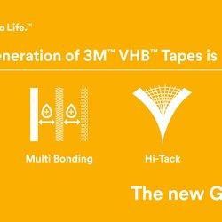3M Nueva GPH Cinta de espuma acrílica GPH-060GF VHB 12MMX33M