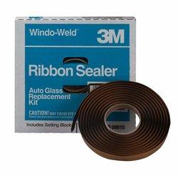 """3M 8622 Cordon sellador windo-weld negro 3/8"""" X 4.5 MT"""