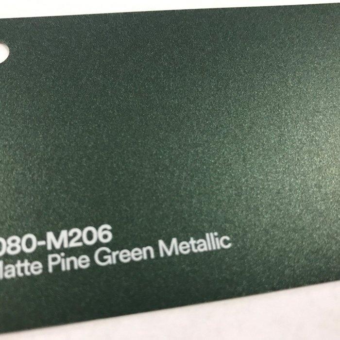3M 1080-M206 M2 MATTE PINE GREEN METALLIC