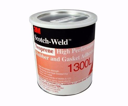 3M 1300L Neoprene Hi Perf Rubber & Gasket Adh Quart 12/Cs -3M